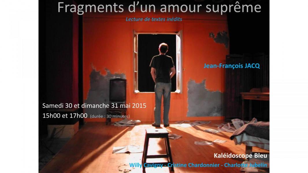 Fragments d un amour supreme affiche page 0